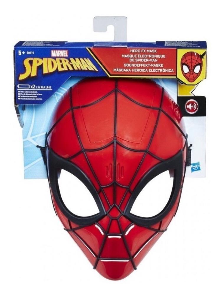 Máscara Spiderman Hombre Araña Con Frases Y Sonido La Jungla