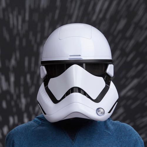 mascara star wars casco stormtrooper electrónica efecto voz