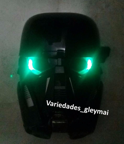 mascara star wars con luces led