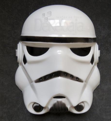 mascara star wars guerra de las galaxias stormtrooper