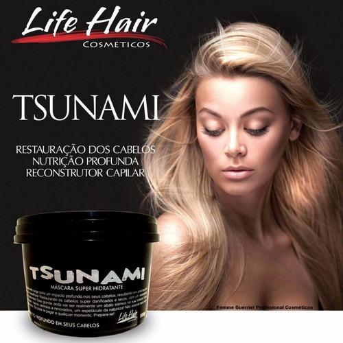 máscara super hidratante tsunami life hair