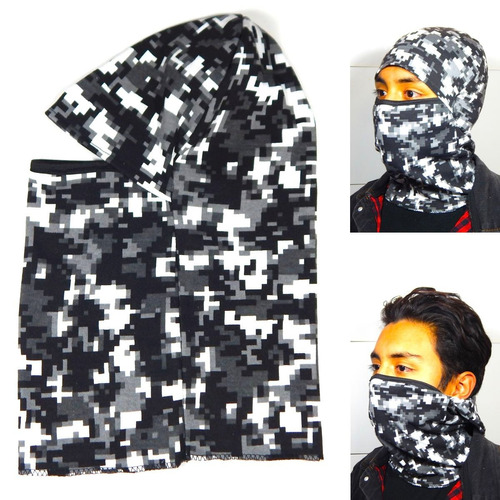 mascara tactica balaclava frio moto gorro tactic urban pixel