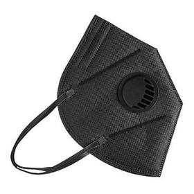 Mascara Tapabocas N95 Con Válvula Descartable Color Negro