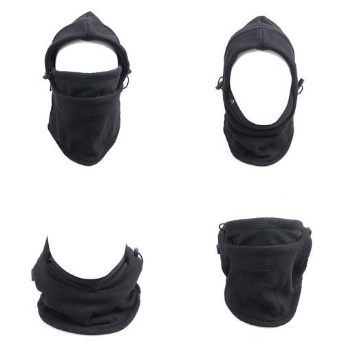máscara térmica ajustable balaclava moto ciclismo con envio
