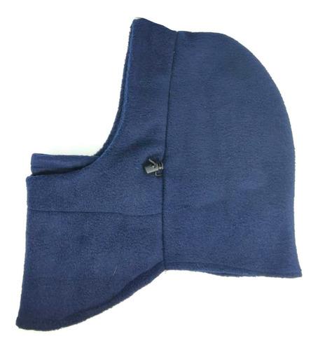 mascara termica balaclava frio bufanda moto azul marino envi