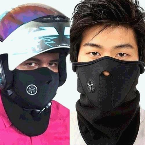 mascara termica en neopreno para moto bicicleta montaña