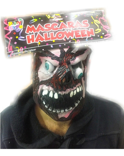 mascara terror latex 100% - hoy superoferta  la golosineria