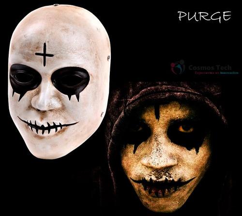 mascara the purge,purga, halloween,importadas,cross