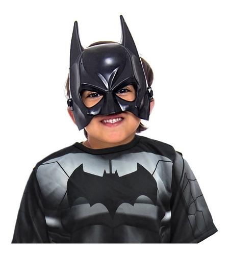 mascara thor capitão america homem aranha batman kit 4 peças