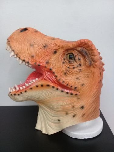 mascara tiranosaurio rex dinosaurio disfraz animales adulto