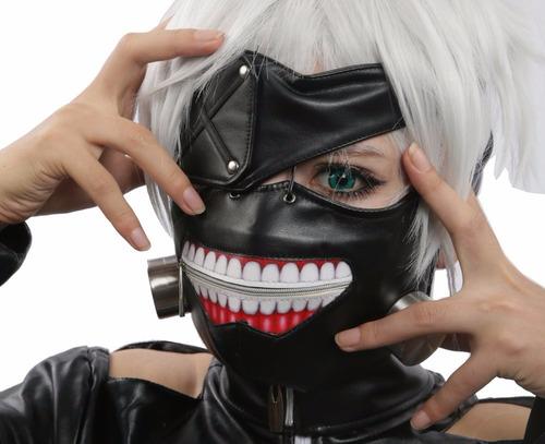 máscara tokyo ghoul kaneki ken cosplay original