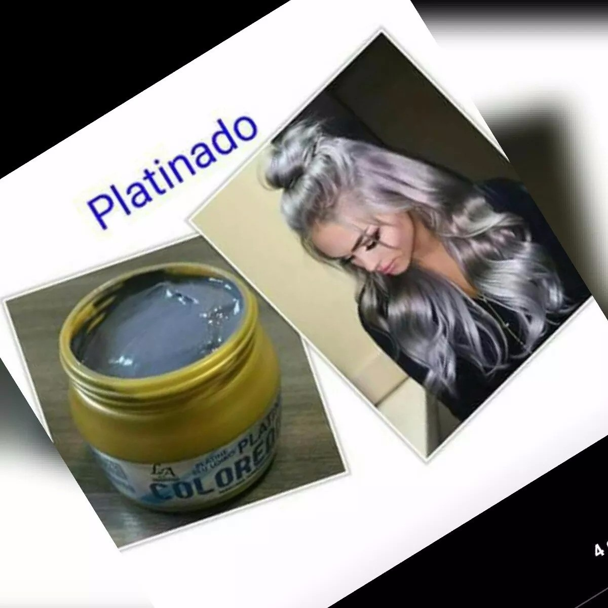 platinum paris produit platine colored massato blond mask
