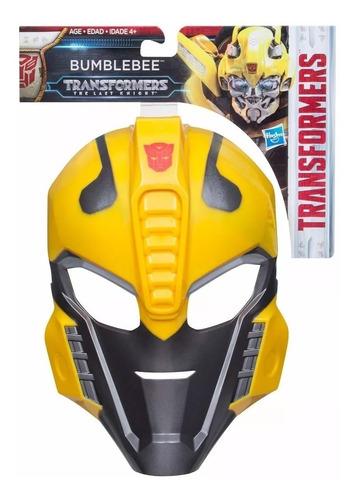 mascara transformers bumblebee original hasbro