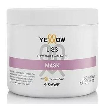 máscara tratamento yellow liss therapy 500g
