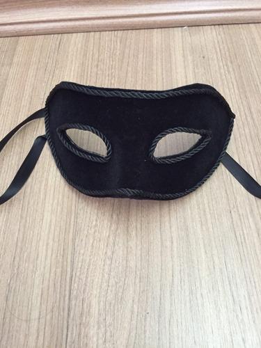 máscara veneza veludo luxo