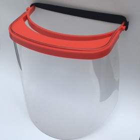 Mascara Visor Protector Facial Naranja X1