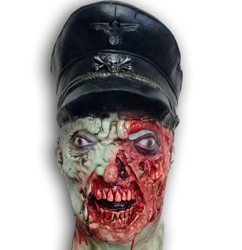 mascara zombie nazi army muerto halloween walking dead miedo