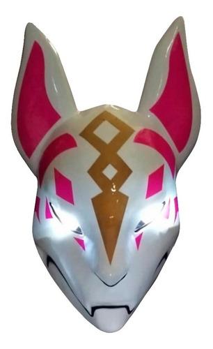mascara zorro deriva fox con luz fortnite disfraz halloween