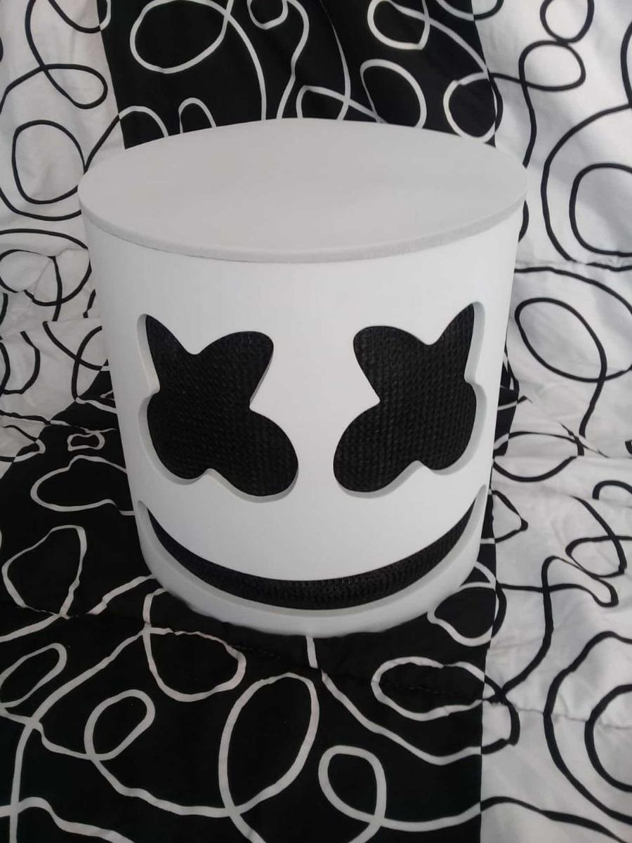 Mascaracasco Marshmallow Disfraz Fortnite Envio Gratis