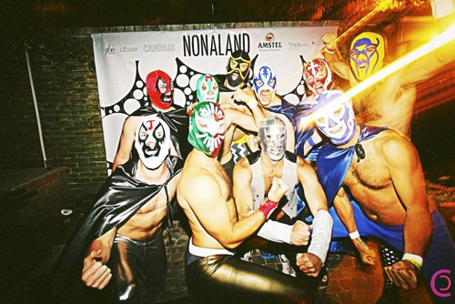 mascaras 100% lucha y titanes en el ring