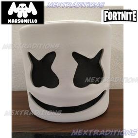 3696cd605764a Mascara Casco Cabeza Marshmello Dj Sin Leds Fortnite