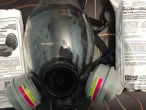 máscaras anti gas advantaje 1000