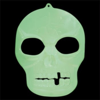mascaras calaveras fluorescentes fiesta halloween decoracion