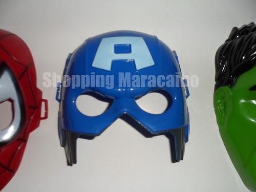 mascaras de avengers  vengadores heroes transformers *tienda