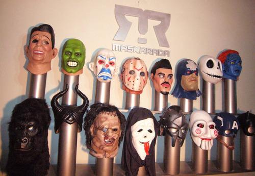 máscaras de látex joker  escuadrón suicida, batman, disfraz