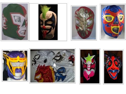 máscaras de luchador ,niño puedes escoger!no compres d señor