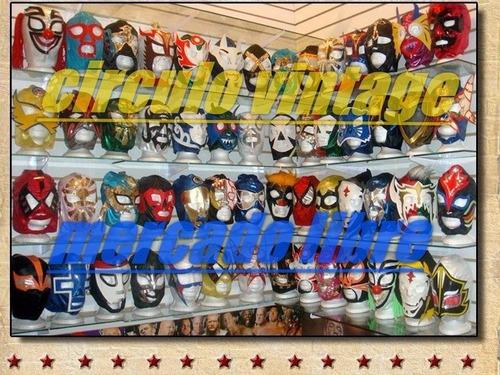 mascaras de luchador!!!calificaciones 100% positivas!