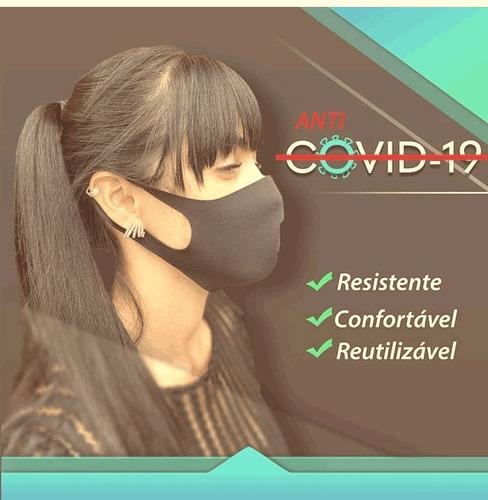 mascaras de malha 90% poliamida e 10%elastano
