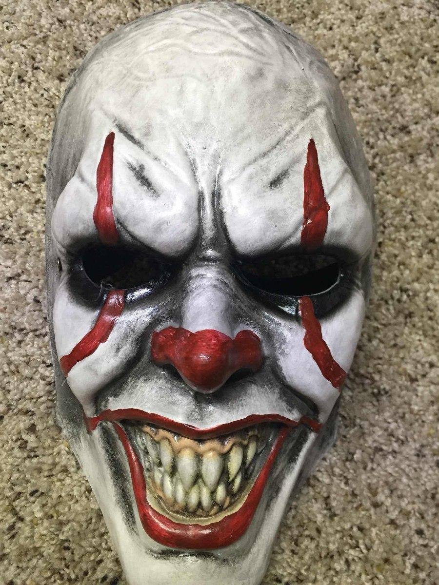 Mascaras De Miedo Para Halloween En Fibra Y Resina Premium - Mascaras-de-halloween-de-terror
