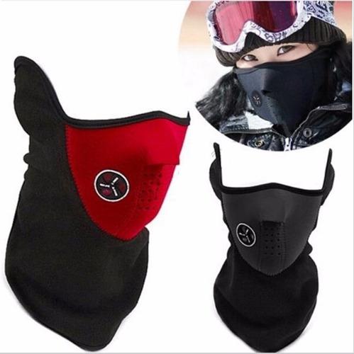 mascaras de neopreno ciclista motociclista deporte frio