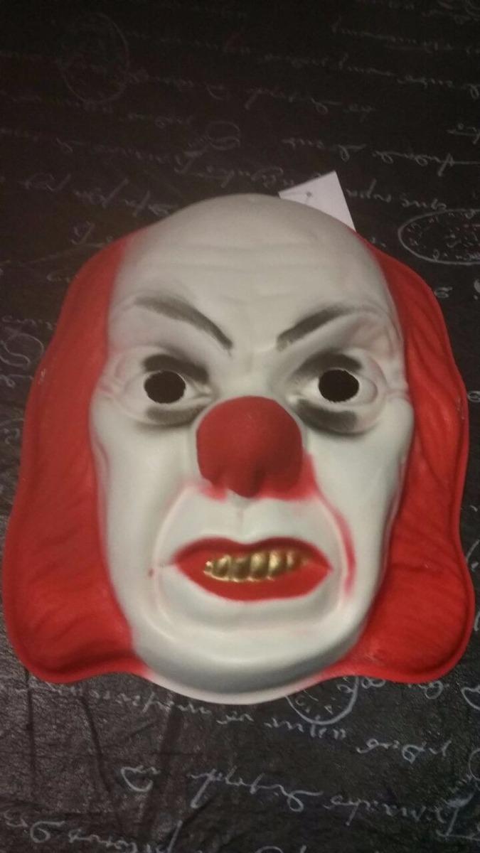 Mascaras De Terror Disfraz Halloween Payaso Maldito Cotillon 34