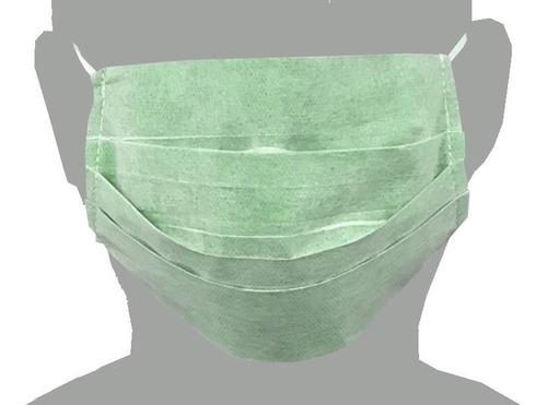máscaras descartável tnt 100 un embalagem individual tripla