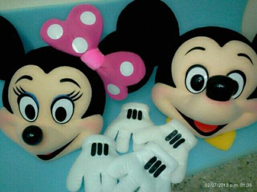 mascaras disfraces carnaval toldos show mickey munecotes