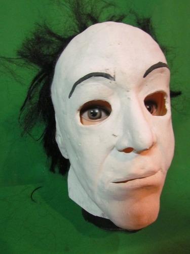 mascaras en látex varios modelos - halloween.