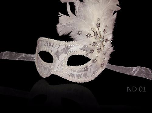 máscaras exclusiva para noiva com renda casamento
