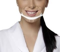 máscaras higiênicas profissional antisalivar p/ estética