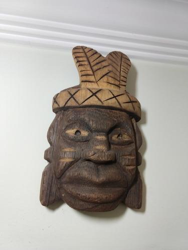 máscaras indígenas enfeite de parede kit