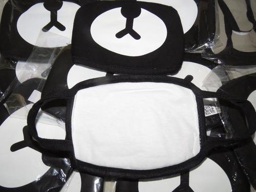 máscaras kpop - ursinho kumamon  / exo / bts - importada