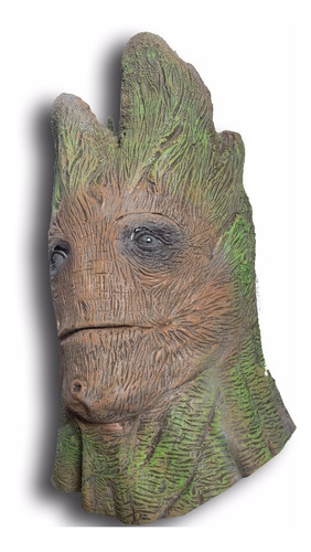 mascaras latex arbol groot guardianes de la galaxia disfraz
