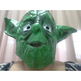 Máscaras Mestre Yoda Star Wars Latex
