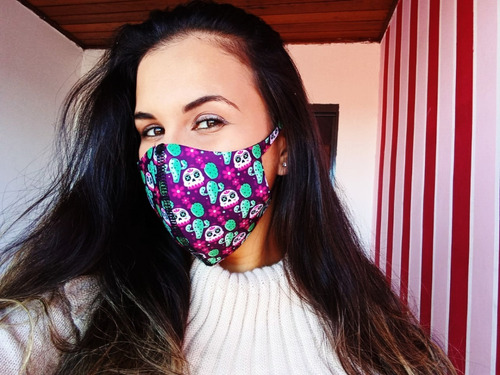 máscaras neoprene ninja respiratória facial envio hoje