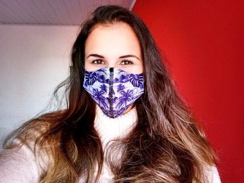máscaras neoprene ninja respiratória várias cores envio hoje