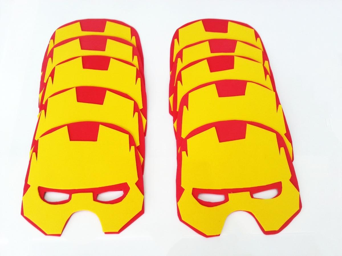 Boneco de Biscuit do Homem de Ferro.