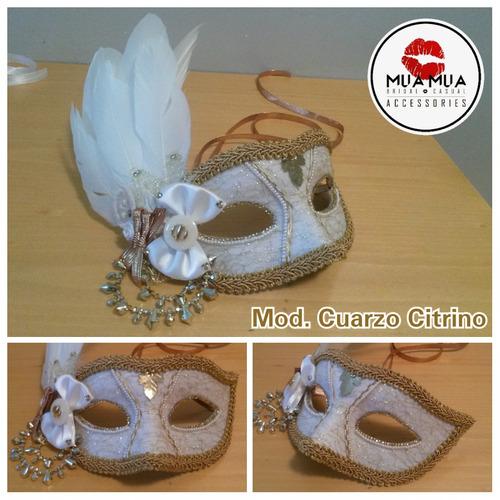 mascaras venecianas para novios y 15años. cotillon,hora loca