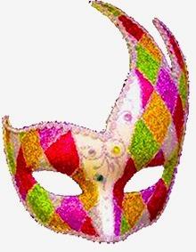 mascaras y antifaces venecianos