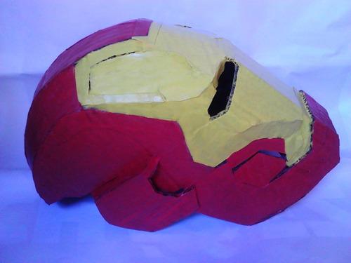 mascaras y cascos de los heroes de marvel